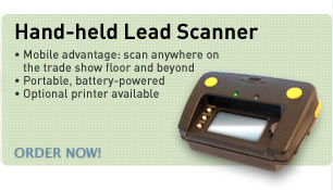 Hand-held lead scanner